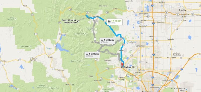 RMNP to Boulder; Jon and Kelsey